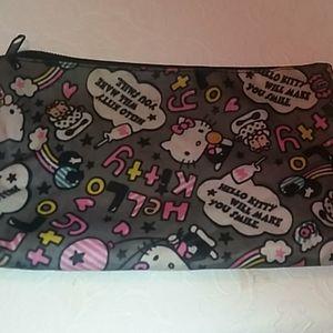 Hello Kitty make-up bag.